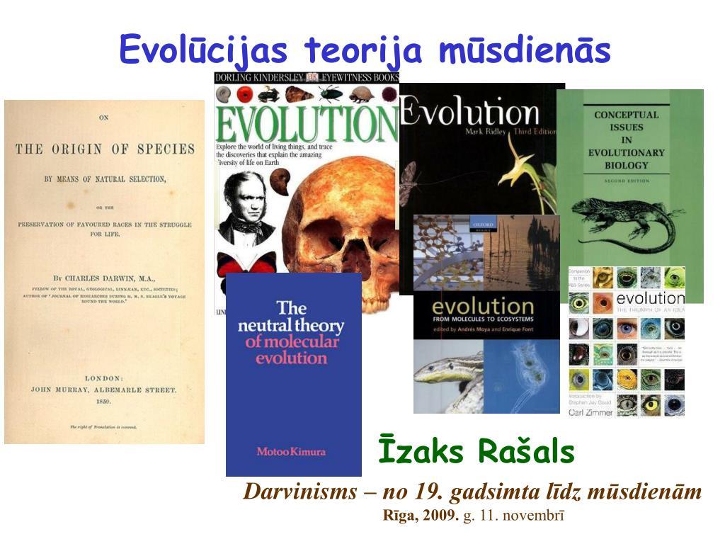 evol cijas teorija m sdien s l.