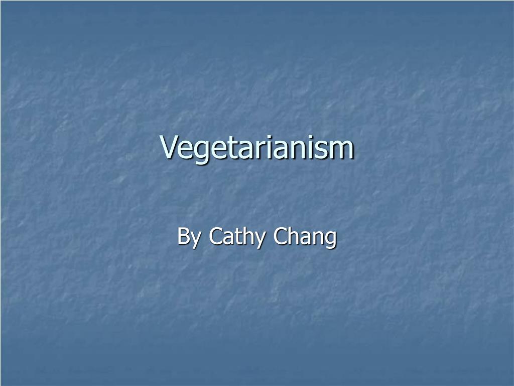 vegetarianism l.