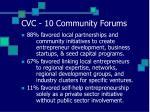 cvc 10 community forums
