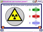 should we use nuclear power
