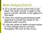 mesh analysis cont d17