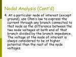 nodal analysis cont d