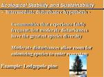 ecological stability and sustainability8