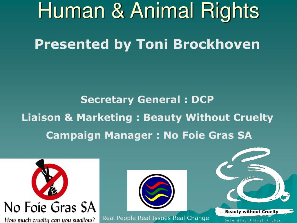 human animal rights l.