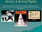 human animal rights13
