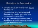 revisions to succession
