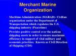 merchant marine organization