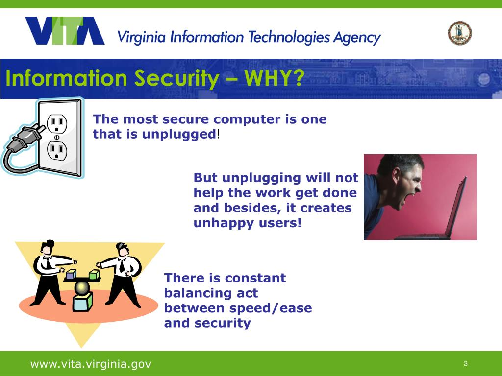 Information Security – WHY?