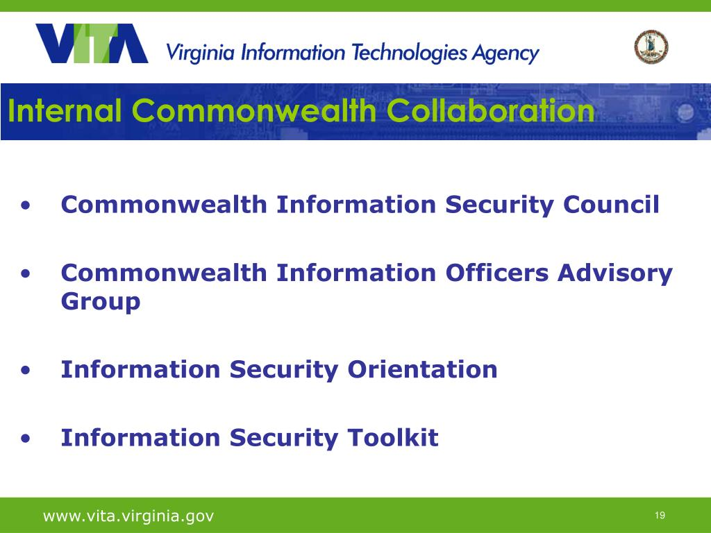 Internal Commonwealth Collaboration