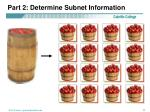 part 2 determine subnet information