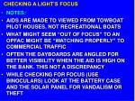checking a light s focus28