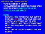 verifying a light s characteristics11
