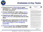 endstates key tasks