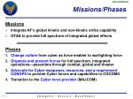 missions phases