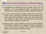 sacramento da penit ncia ou reconcilia o18