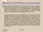 sacramento da penit ncia ou reconcilia o25