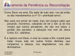 sacramento da penit ncia ou reconcilia o9