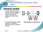attention guided visual sparse coding model33