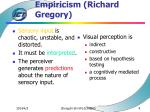 empiricism richard gregory