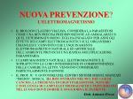 nuova prevenzione l elettromagnetismo