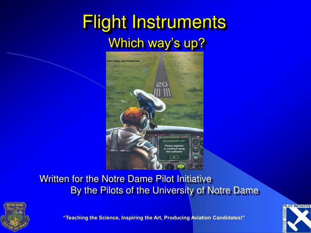 flight instruments l.