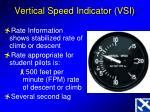 vertical speed indicator vsi