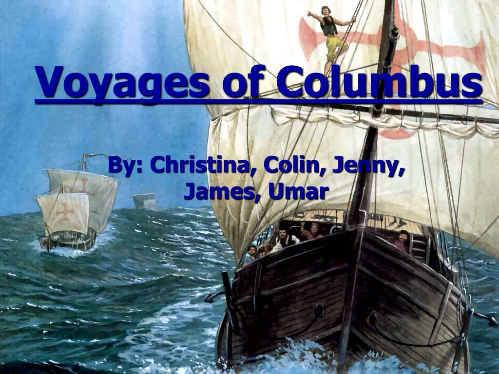 voyages of columbus l.