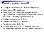 ml s v re analyse de base n 23