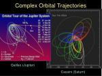 complex orbital trajectories