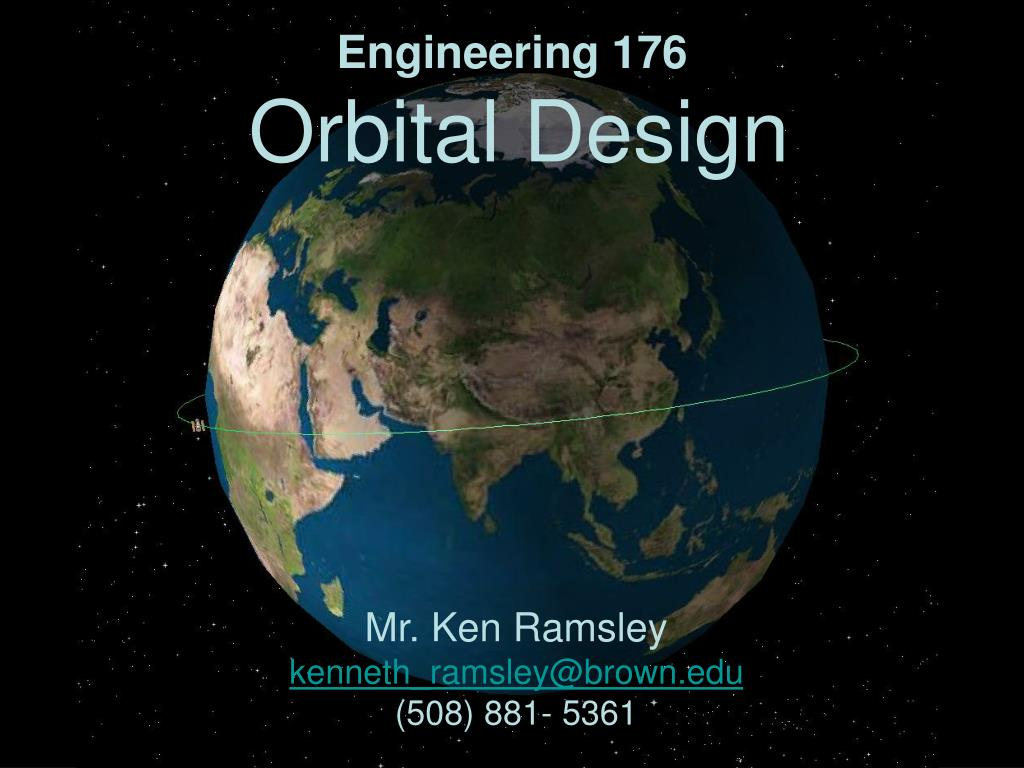 engineering 176 orbital design l.