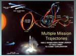 multiple mission trajectories