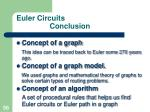 euler circuits conclusion