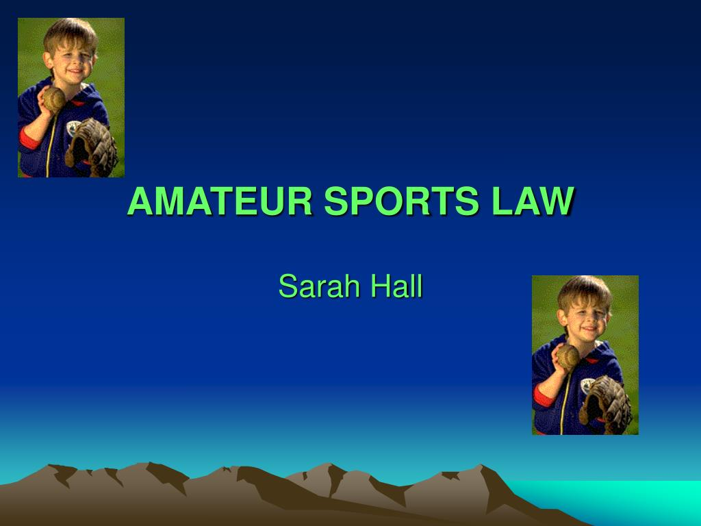 amateur sports law l.