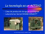 la tecnolog a es un activo5