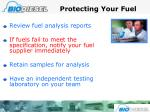 protecting your fuel