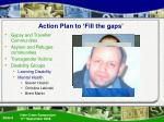 action plan to fill the gaps