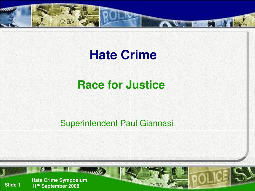 hate crime l.