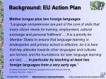 background eu action plan
