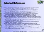 selected references18