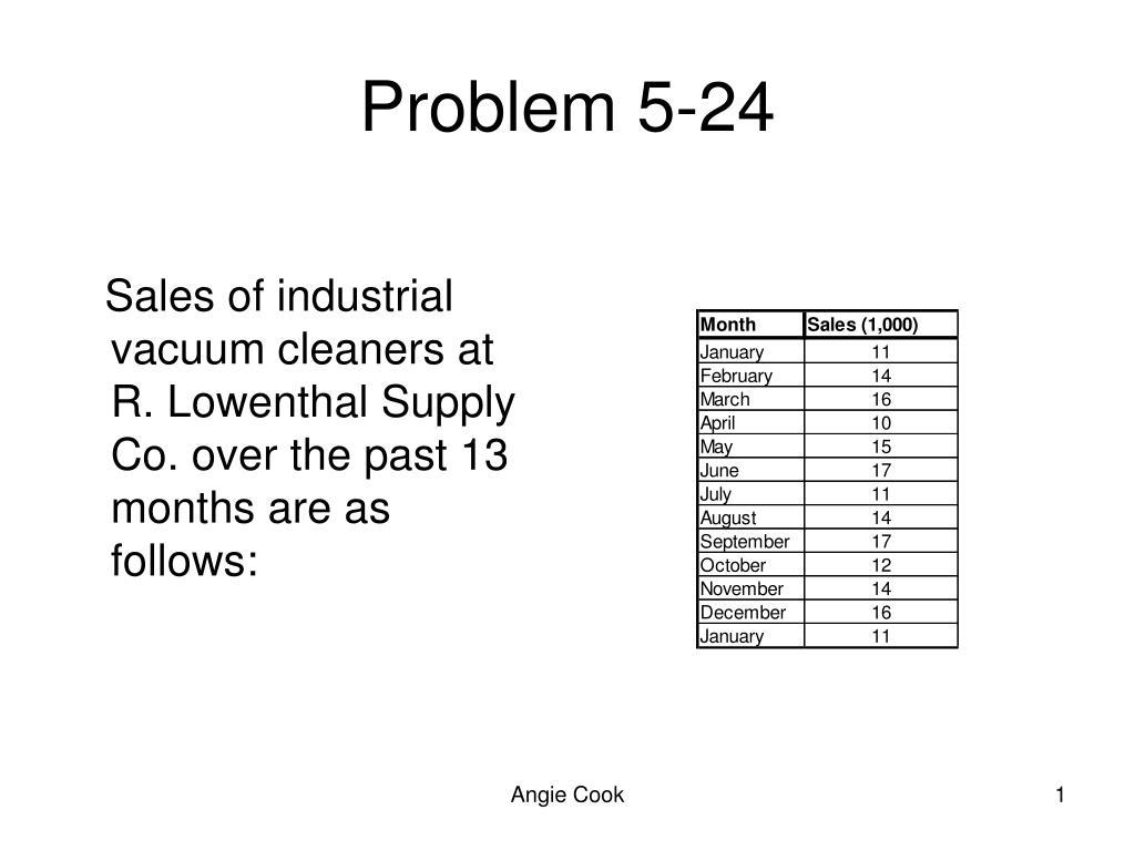 problem 5 24 l.