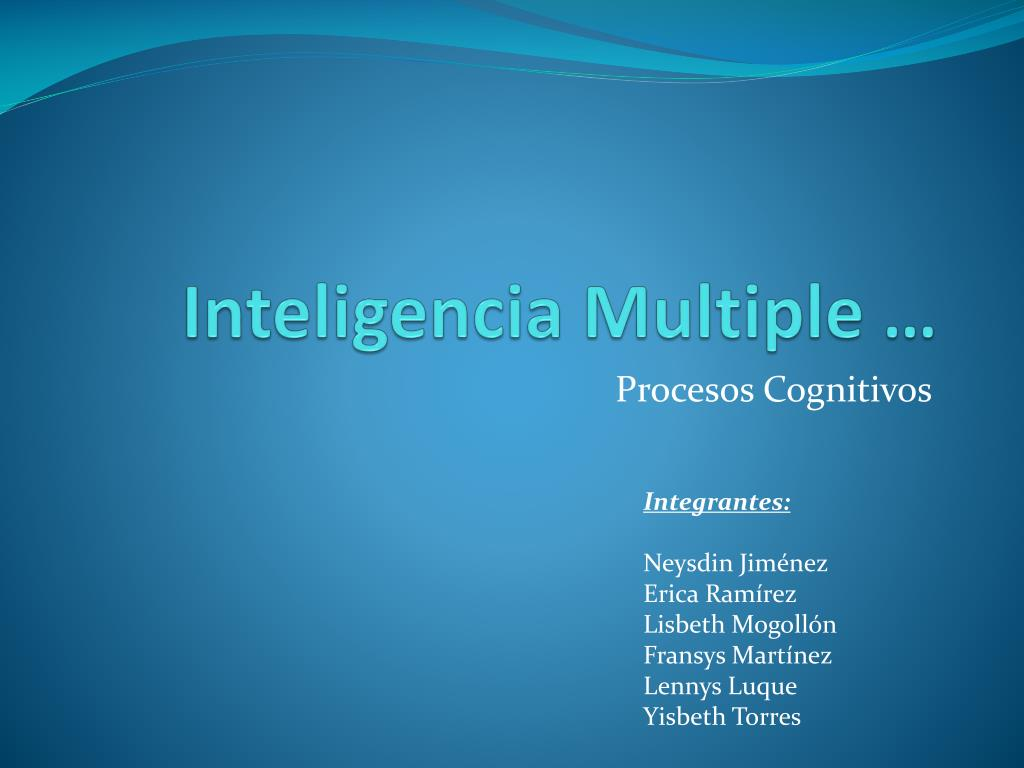 inteligencia multiple l.