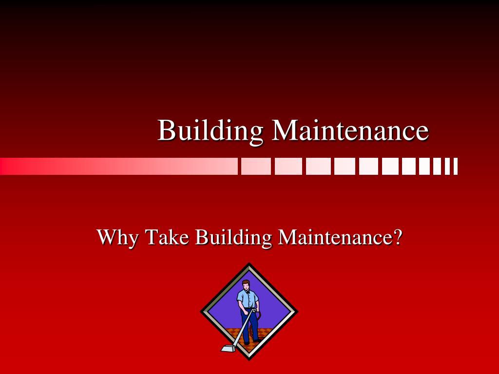 building maintenance l.