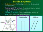 parallel projection32