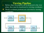 viewing pipeline19