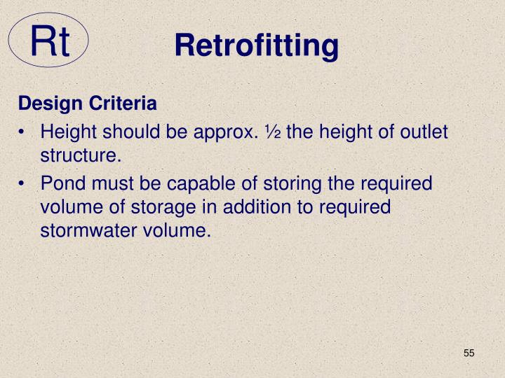 Retrofitting
