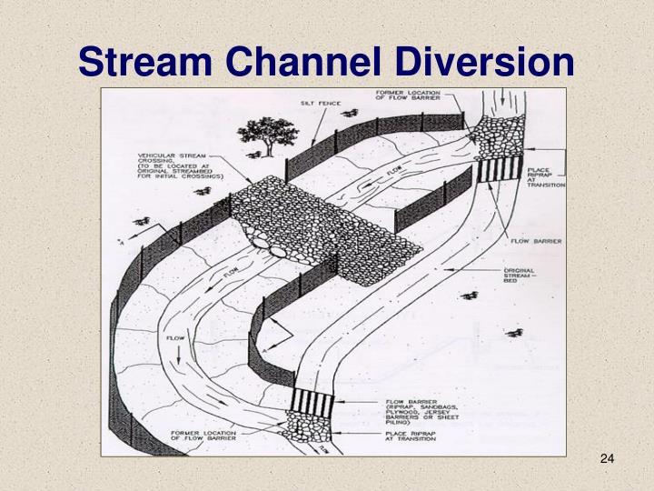 Stream Channel Diversion