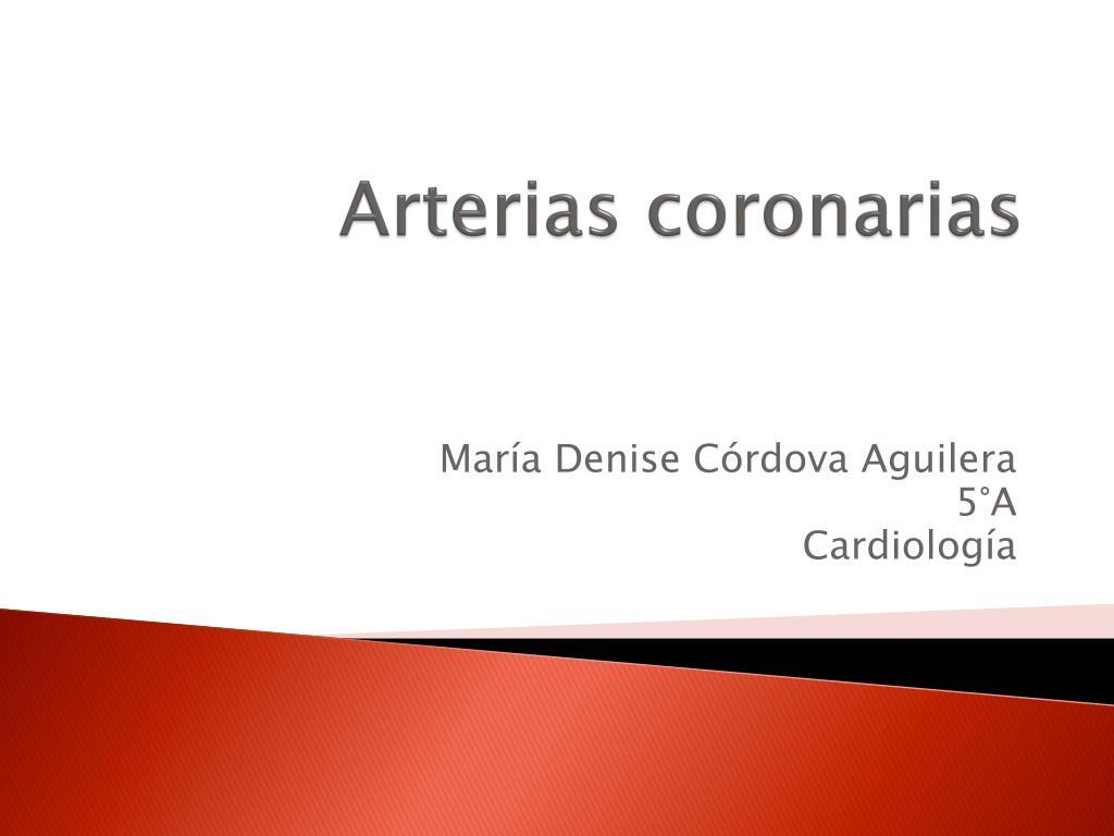 arterias coronarias l.