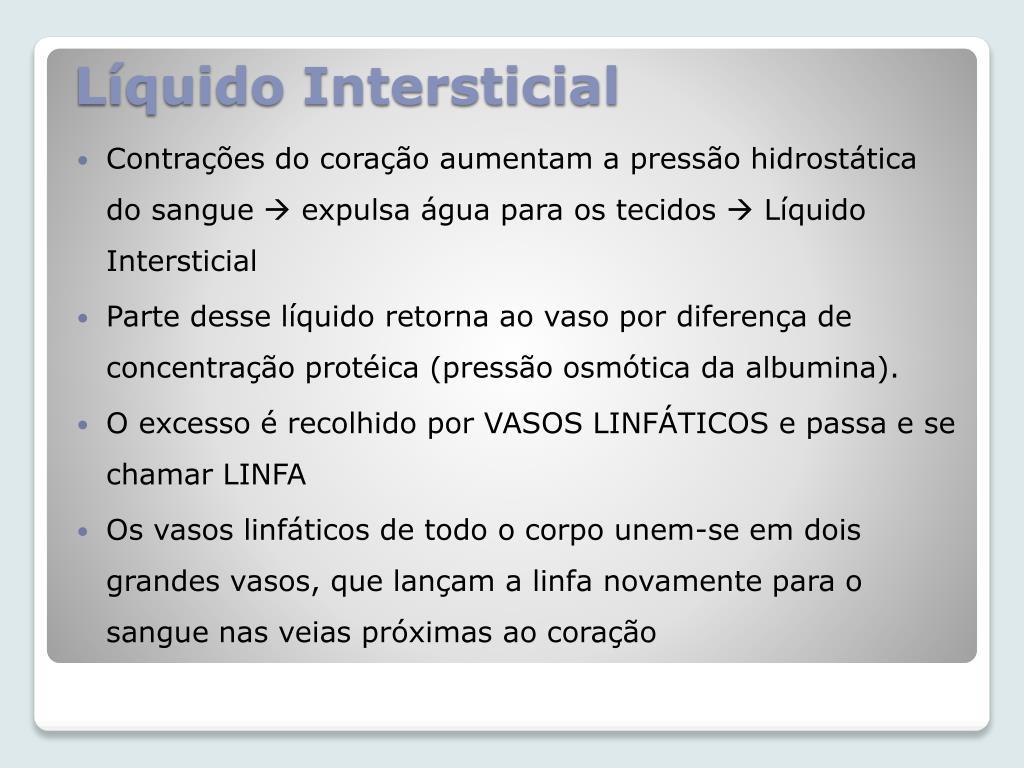 Líquido Intersticial