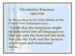 desiderius erasmus 1469 1536