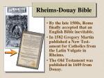 rheims douay bible